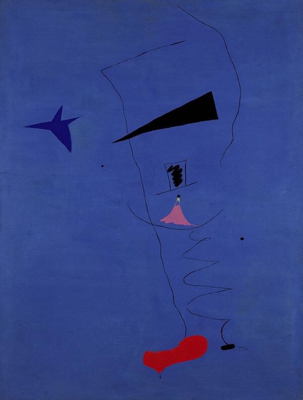 Blue Star, 1927 by Joan Miro