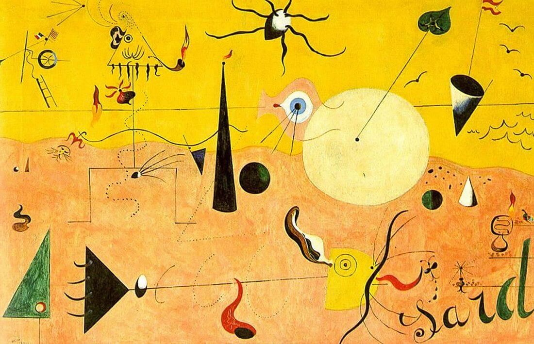 Catalan Landscape, 1924 by Joan Miro