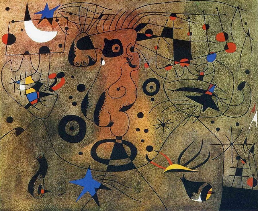 Constellations, 1940 by Joan Miro
