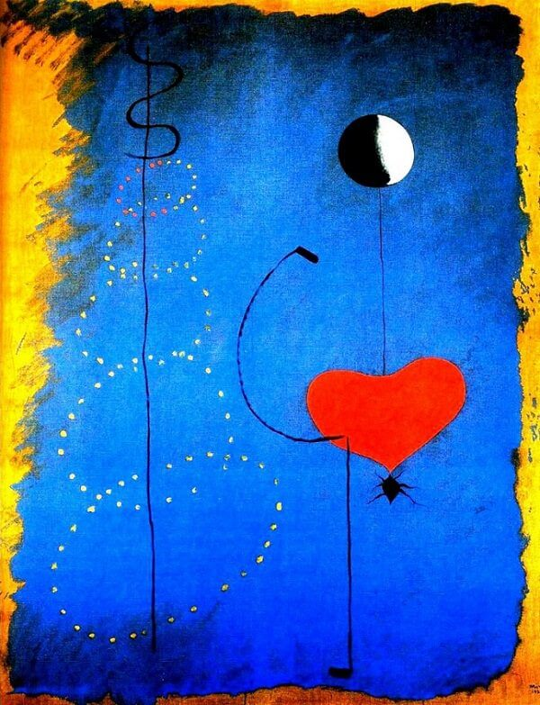 Dancer, 1925 by Joan Miro