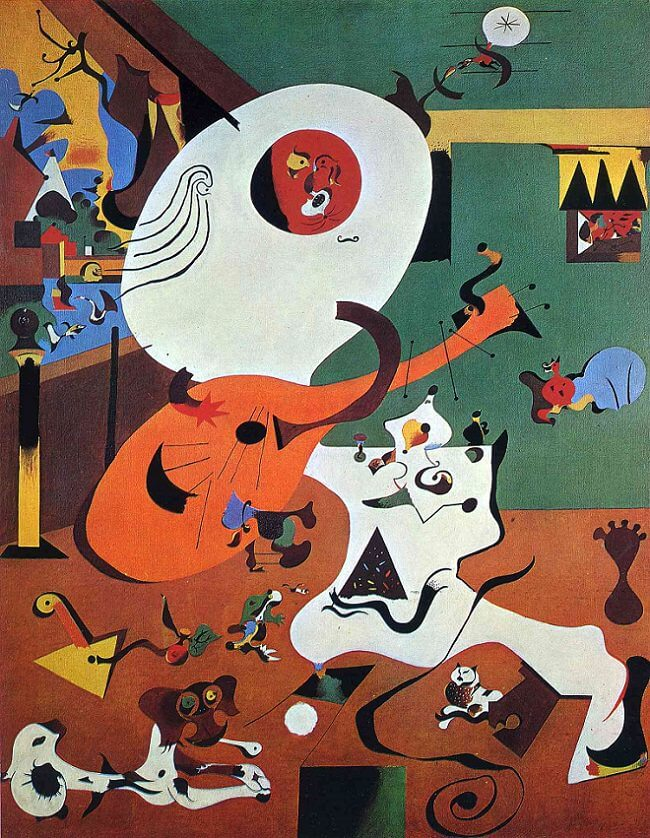 Dutch Interior I, 1928 by Joan Miro