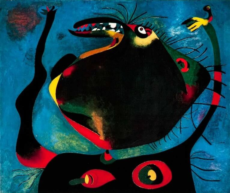 Head of a Woman, 1938 by Joan Miro
