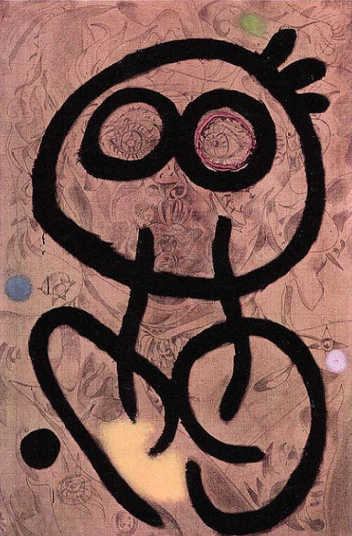 Self Portrait, 1937 by Joan Miro