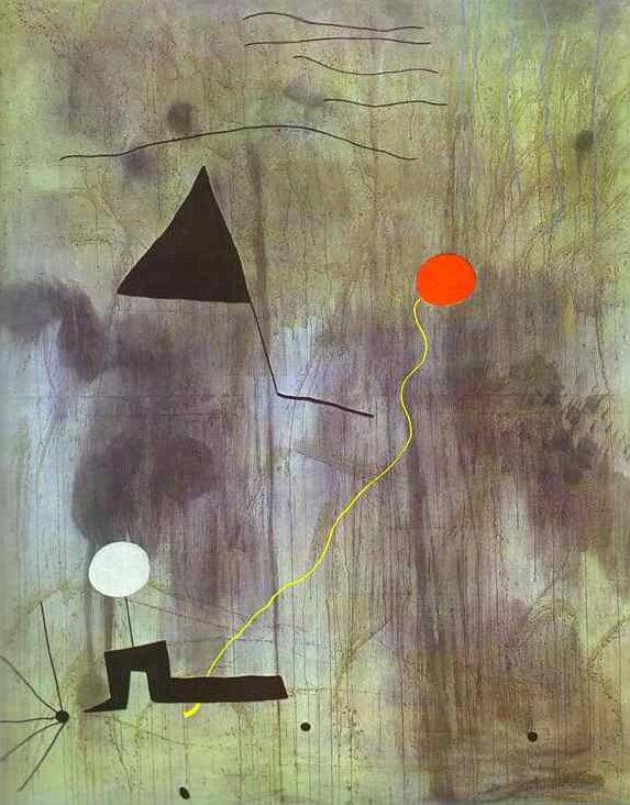 The Birth of the World, 1925 by Joan Miro